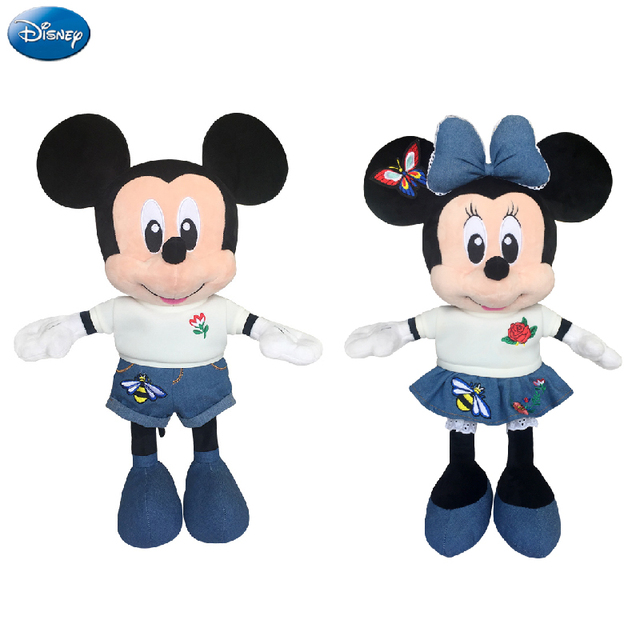 f208da68c7db Disney Brand Mickey Mouse Minnie 49cm Big Plush Stuffed Animal Toys Doll  Baby Boys Girls Kids Toys for Birthday Christmas Party