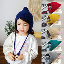 Newborn Kids Baby Boys Girls Hat 2018 New Hot Sale Fashion Winter Warm Crochet Knit Infants Cotton Soft Beanie Cap Age 6-12M(China)