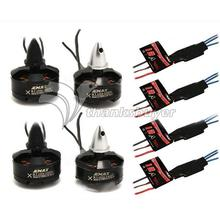 Emax MT2204-2300KV Motors + 12A Speed Brushless ESC For FPV QAV250 Quadcopter