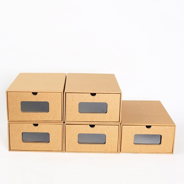 Stackable Drawer Case Makeup Organizer Jewelry Box Men Women Shoes