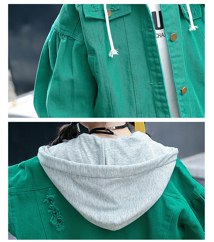 sports outwears coats for big girls clothing long sleeve red green hooded patchwork tops kids jackets active baby girl clothes (8)