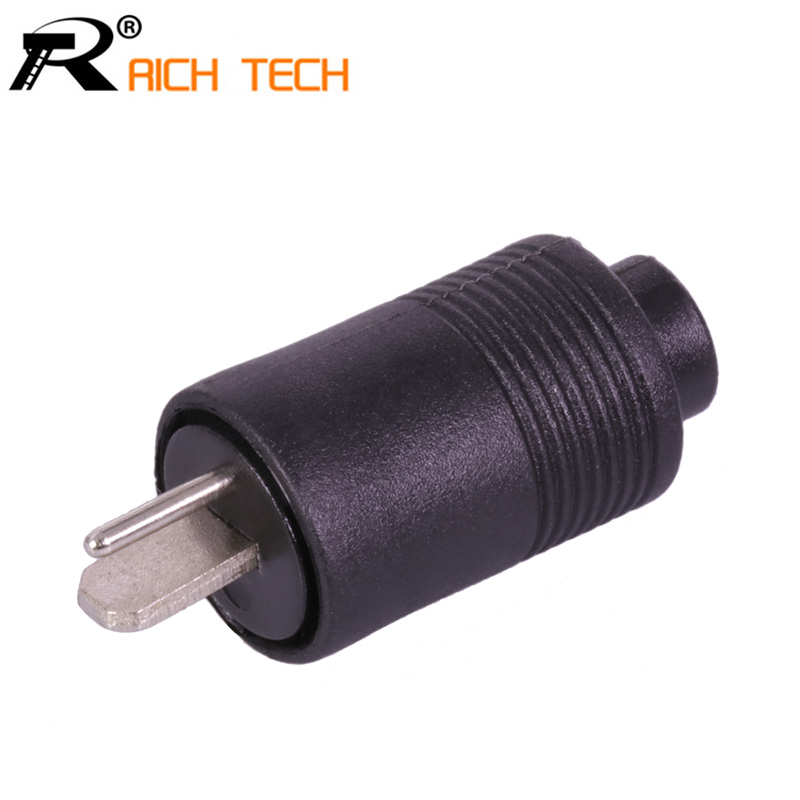 3pcs RICH TECH 2 Pin DIN Male + Female Speaker Plug 2-Pin Plug Hifi Loudspeaker Solder Connector ...