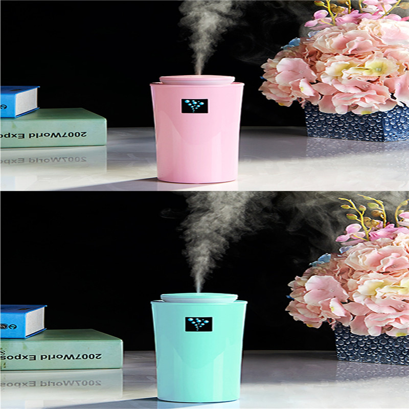 400mA DC5V ABS+PP+Silicone 35ml/H USB LED Ultrasonic Family Car Humidifier Air Distributor Purifier Nebulizer Auto Accessories ...