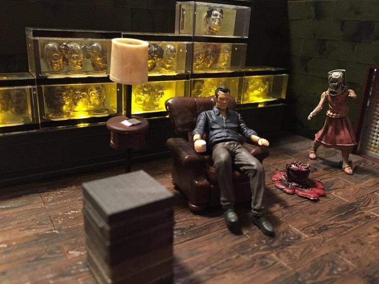 Estartek Original Mcfarlane Block Toy Diy Governor Zombie Head Fish Tank Scene New Box 292pcs In Action Figures From Toys Hobbies On