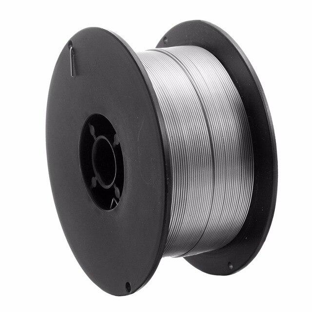 1 rulo paslanmaz çelik katı özlü MIG kaynak teli 0.8mm 500g/1kg teller için gıda/genel kimyasal ekipman