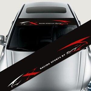Image 3 - Wasserdicht Auto auto Front Fenster Windschutzscheibe Aufkleber Aufkleber Für Honda Civic Für Camry Für Ford Focus Auto Styling