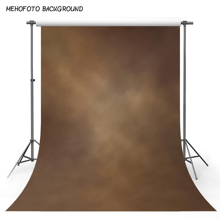 MEHOFOTO 5x7ft Old Master Abstract Photo background Printed Professional Misty Brown Portrait Photography Backdrops L-555