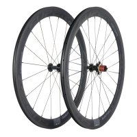Superteam Road Carbon Fiber Wheelset 50mm Bicycle Carbon Wheels High TG Basalt Bike Wheels with Ceramic Hub