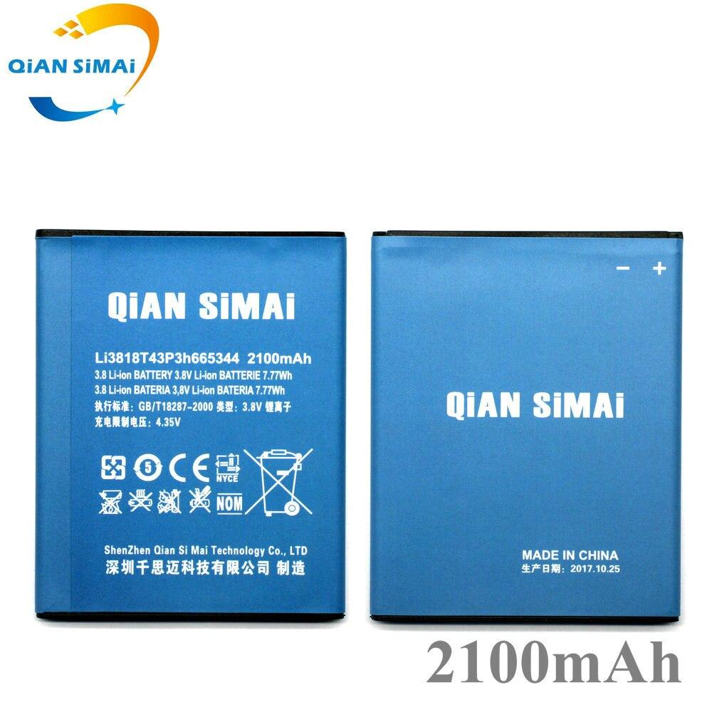 QiAN SiMAi 21000 mAh Hohe qualität Li3818T43P3h665344 batterie Für ZTE TWM ERSTAUNLICHE A5S Klinge GF3 T320 Telefon