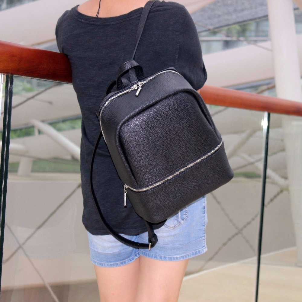 2018 winter newest deign backpack women s fashion handbags good quality backpack genuine leather backpack