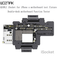 QIANLI iSocket for iPhone x xs xsmax motherboard test fixture double deck motherboard Function Test Repairing Tools Without weld