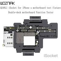 QIANLI isoket для iPhone x xs xsmax материнская плата тестовая арматура двухслойная материнская плата функция тест Ремонт Инструменты без сварки