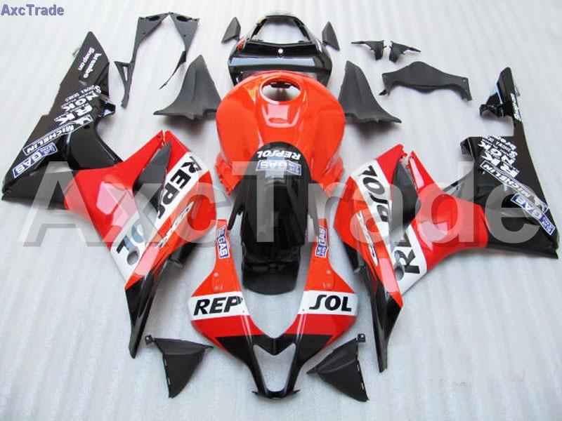 Orange Moto Fairing Kit For Honda CBR600RR CBR600 CBR 600 RR 2007 2008 F5 Fairings Custom Made Motorcycle Injection Molding C89 custom injection factory motorcycle fairings parts for 2005 2006 honda f5 cbr 600 rr cbr600rr 05 06 white repsol fairing bodyits