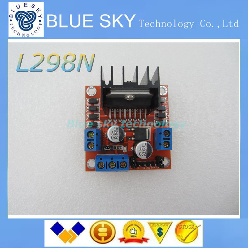 Special promotions 10pcs lot L298N motor driver board module L298 for arduino stepper motor smart car