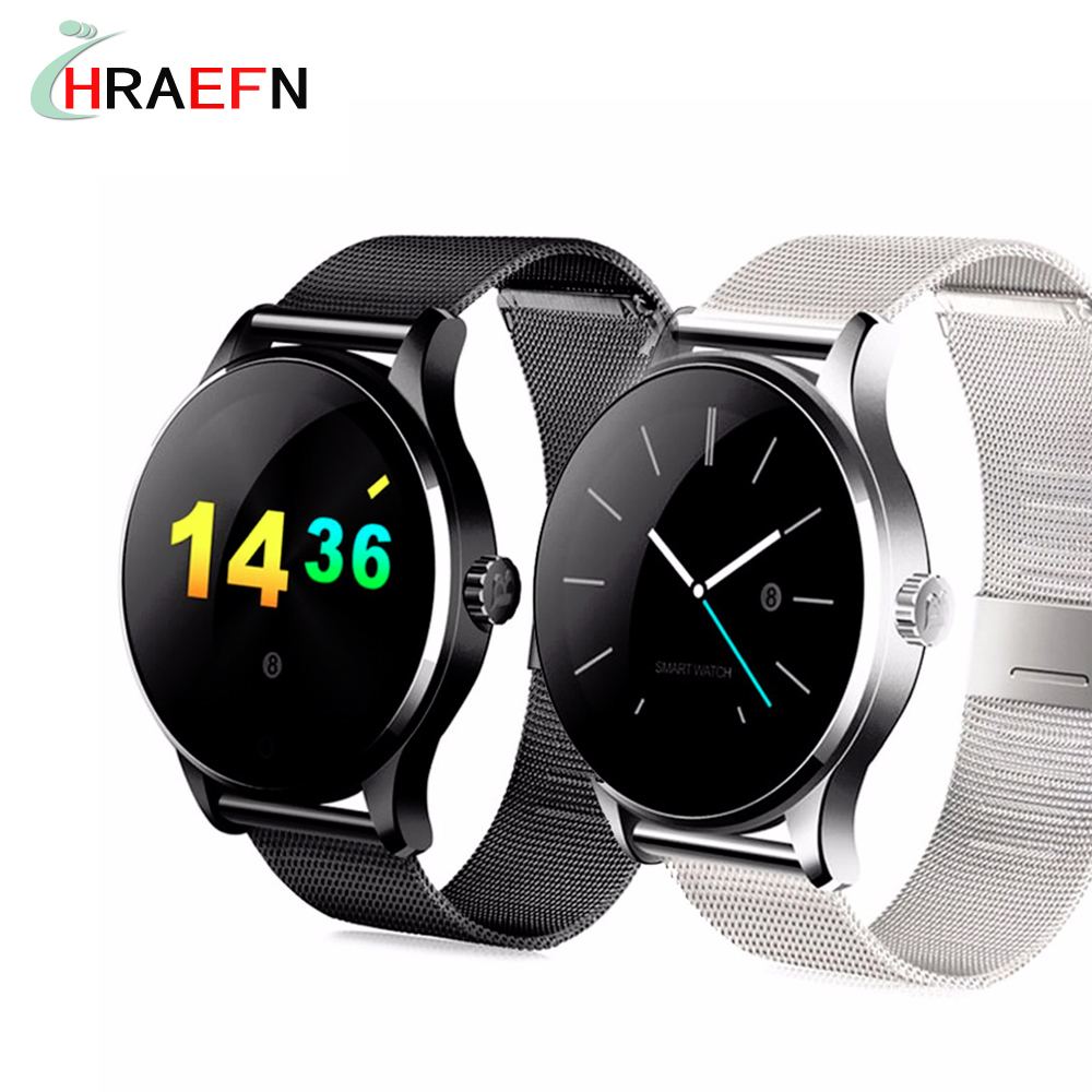 Hraefn K88H Smart Watch Bluetooth Smartwatch Heart Rate Monitor Sport bracelet For Android samsung xiaomi IOS Apple iphone phone