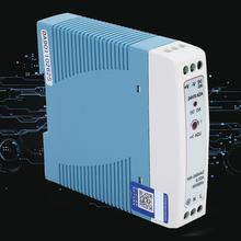 MDR-10-24 10W 24V/ 0.42A Din Rail Power Supply Single Output Industrial Power Supply [sumger2] mean well original drh 120 24 24v 5a meanwell drh 120 24v 120w single output industrial din rail power supply