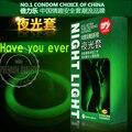 3 unids Luminoso Condones + 4 unids Fluorescencia Especial Condones Ultrafinos Condones Sexo Juguetes Temáticos Médicos