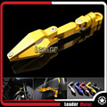 Produto universal para kawasaki ninja250 ninja 300 zx-10r zx-6r versys1000 versys650 acessórios da motocicleta do freio linha braçadeira de ouro