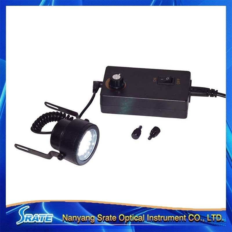 ФОТО 30 LED Illuminant Adjustable Angle & Brightness Oblique Light Source for Stereo Microscope with 220V Plug