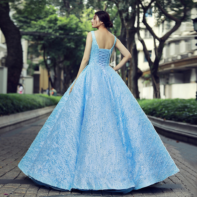 J66563 jancember quinceanera dresses 15 ball gown sleeveless v-neck floor length prom party dress vestidos de quinceaneras 2019 1
