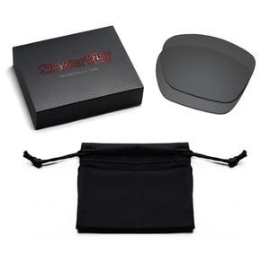 Image 5 - SmartVLT 3 זוגות מקוטב משקפי שמש החלפת עדשות עבור אוקלי Twoface XL התגנבות שחור וכסף טיטניום וקרח כחול
