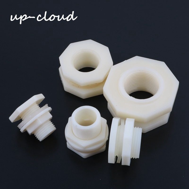 ABS ID 20mm 25mm 32mm Fish Connector Tank Drain Pipe Accessories Aquarium Joints Water Pipe Fittings 1/2 Inch 3/4