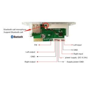 Image 4 - AIYIMA 12 فولت الأزرق LED MP3 محلل شفرة سمعي مجلس ضياع FLAC APE 4.2 بلوتوث فك مع جهاز التحكم عن بعد TF بطاقة راديو FM