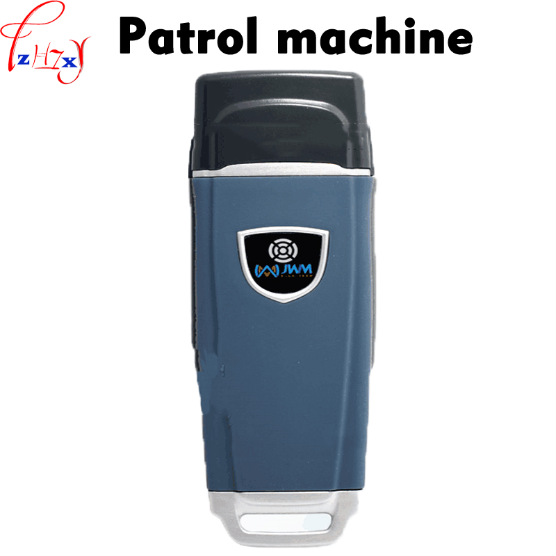 Waterproof guard patrol management reader  WM - 5000V3 patrolling machine electronic guard tour system 3.7V 1PC guard tour system patrol system time cotnroller v4 card reader 125khz time recorder in stock free shipping