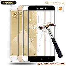 Screen Protective Tempered Glass For Xiaomi Redmi 4X For Xiaomi Redmi Note 5A 5 Plus Full Cover Protector For Redmi 4X 5 5A Film luanke full protective film for xiaomi redmi note 5 2pcs