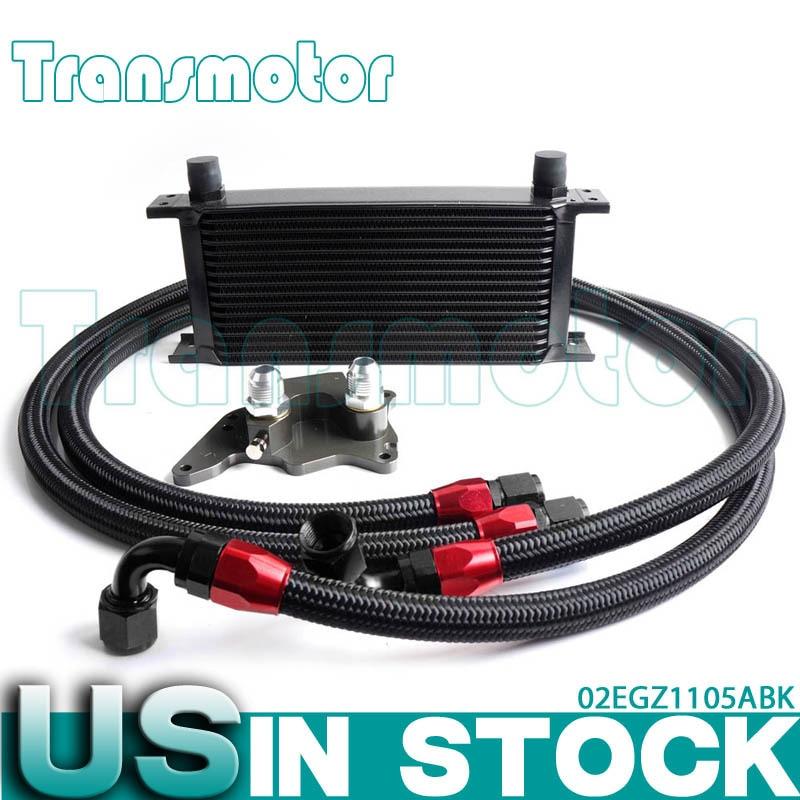 Buy gplus 16 row engine oil cooler kit for Mini cooper motor oil