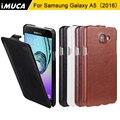 Телефон случаях Для Samsung Galaxy A5 2016 case cover luxury флип leather case For Samsung Galaxy A5 A510 A510f A5100 коке капа