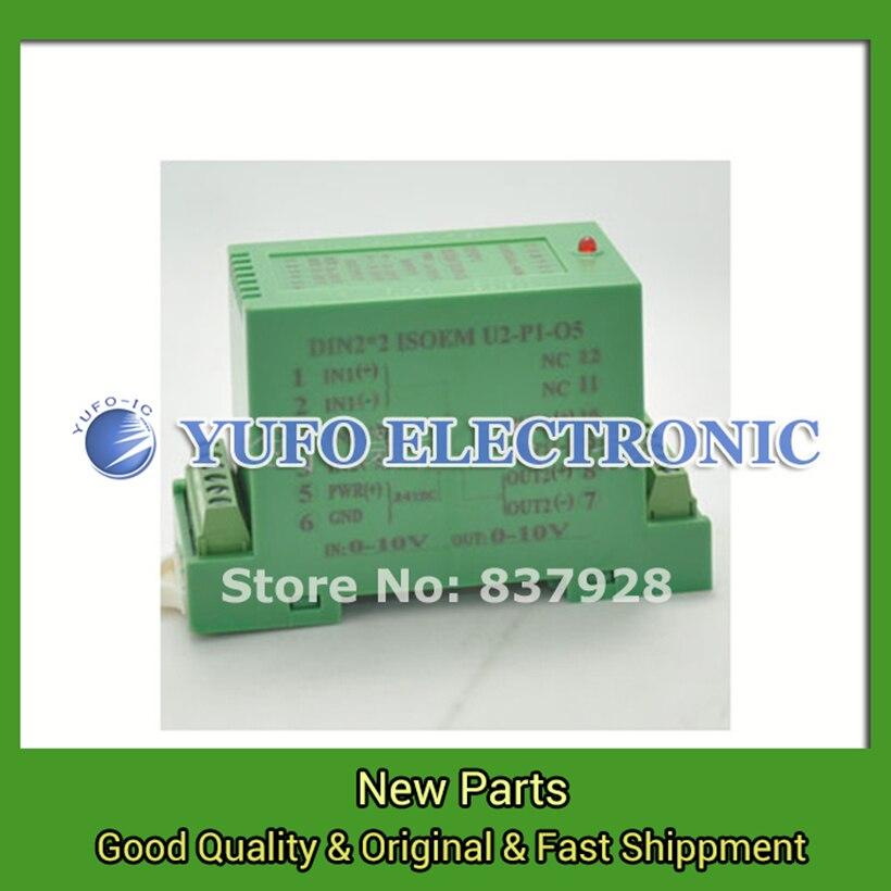 Free Shipping 1PCS DIN2X2 ISOEM U2-P1-O5 proxy rail isolation transmitter signal isolation amplifier YF0617 relay цены
