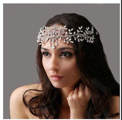 Ангел горный хрусталь свадебные аксессуары для волос диадемы свадебные украшения, Свадьба лоб аксессуары для волос