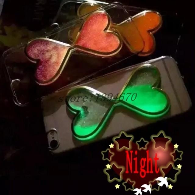 Świecące Etui z ruchomym brokatem iPhone Samsung