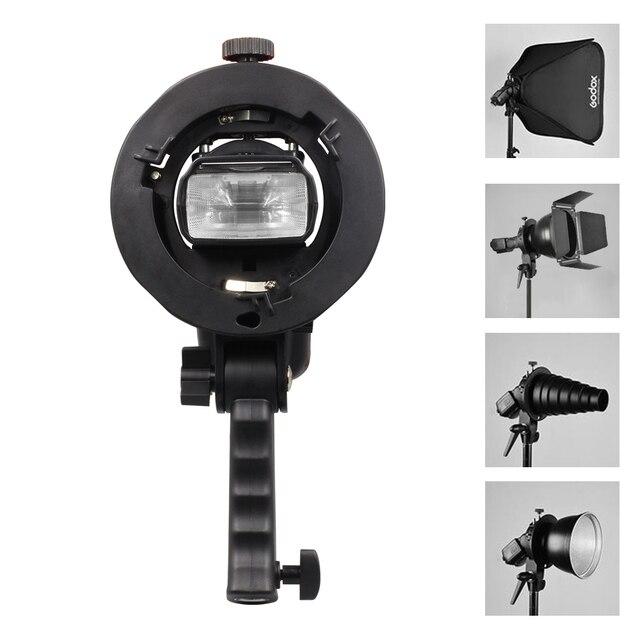 Uchwyt typu S uchwyt Bowens S uchwyt do lampy błyskowej Speedlite akcesoria do studia fotograficznego Snoot Softbox parasol uchwyt do mocowania Bowens