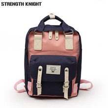 High Quality New Arrival Women's Canvas Backpack School bag For Girls Rucksack New Design Backpacks School bags Travel new corduroy backpack high quality school bags for teenger girls casual travel backpacks solid color rucksack mochila xa1867c