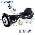 IScooter Ховерборд 6,5 дюймов и 10 дюймов Смарт баланс 2 колеса электрический скутер bluetooth скейтборд с пультом дистанционного giroskuter UL2722
