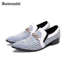 Batzuzhi Italy Style Shoes Men Pointed Toe Designer's Dress Shoes Men Luxury Formal Shoes Men Leather Sapato Masculino