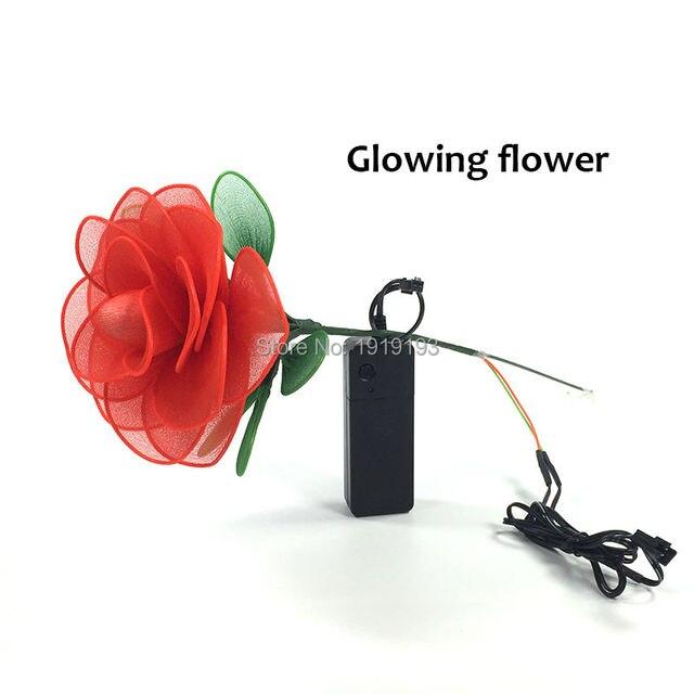 Neues Design Handmade Urlaub Beleuchtung Glowing Rose Romantische ...