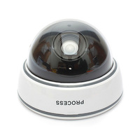 Fake Camera Battery Powered Flicker Blinking LED Indoor Outdoor Dummy Surveillance House Home Security Camera CCTV