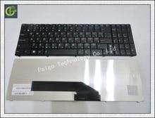 Russian Keyboard for  Asus K51 K51AC K51AE K51A K51IO X70IJ X70A   RU same cable Black keyboard