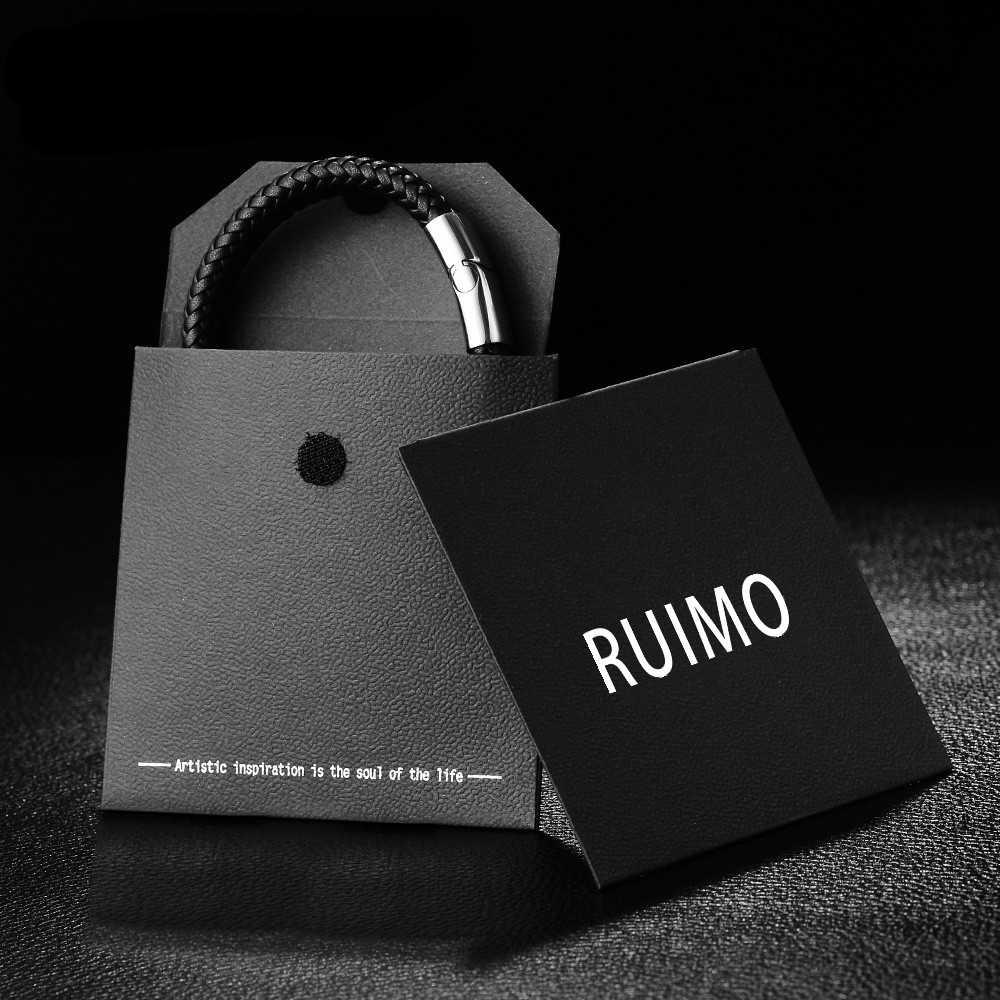 RUIMO คุณภาพสูง 316l สแตนเลสสตีลเกลียวลาย Spacer ลูกปัด Charms สร้อยข้อมือเครื่องประดับขายส่ง