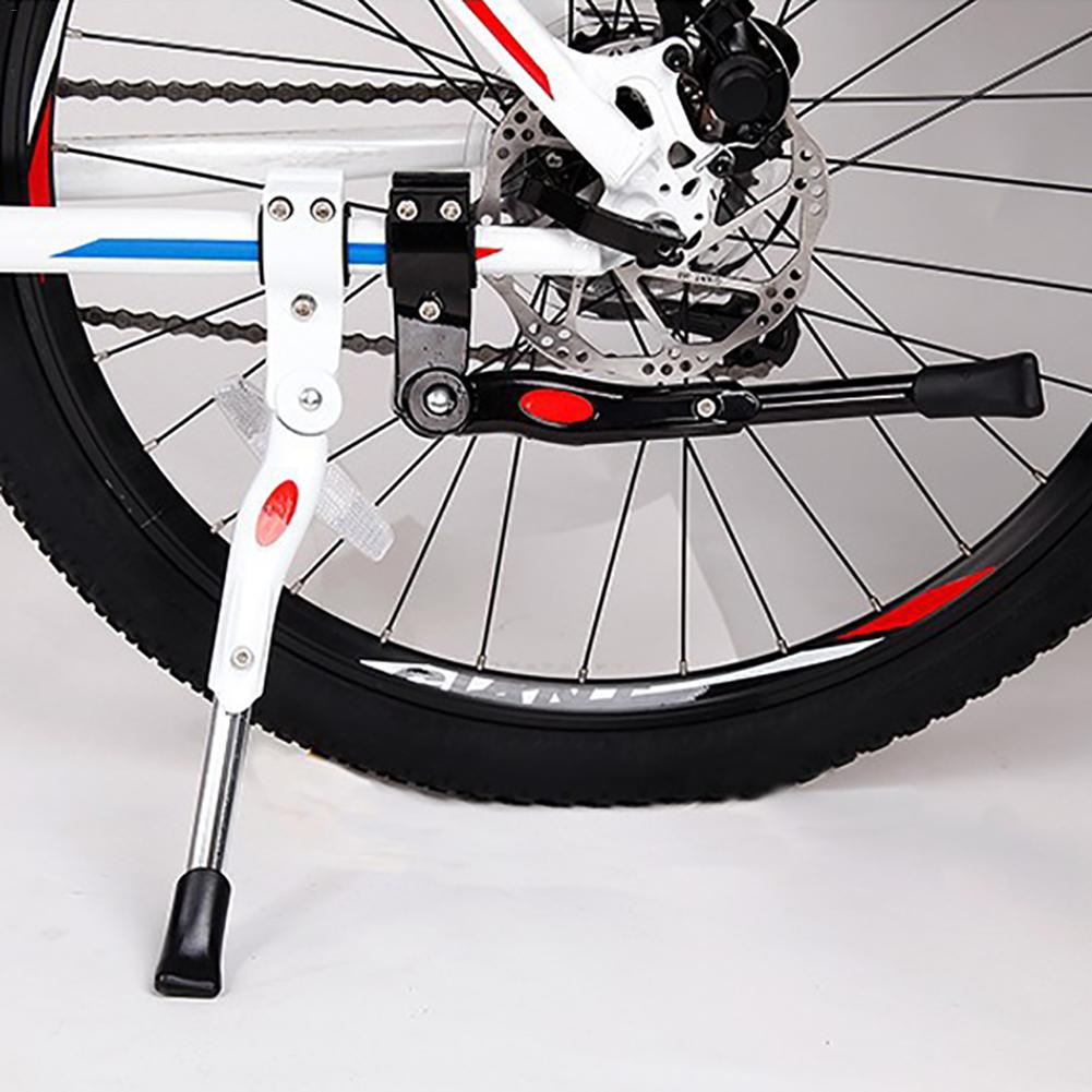 Bike Kickstand Center Mount Holder Easy Install Aluminum Alloy Parts Single Leg