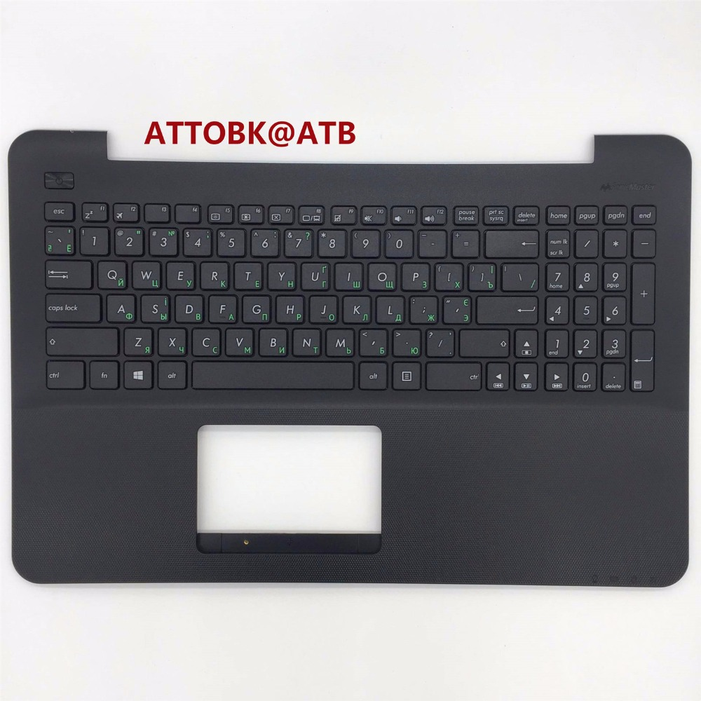 NEW RU standard Laptop palmrest keyboard for Asus FL5800 R556L R557 X555LD X555LP X555YI X555UF X554 fl5600 With topcase Shell-in Replacement Keyboards from Computer & Office    1