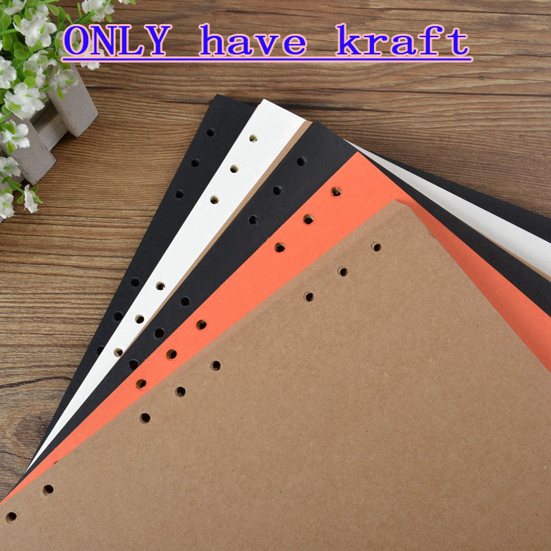 250g 30 Sheets A4 B5 A5 DIY Vintage Kraft Photo Papers