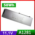 """10.8V 50Wh A1281 A1286 ( 2008 Version ) laptop battery For MacBook Pro 15"""" MB470 MB471 MB772 MB772*/A MB772J/A"""