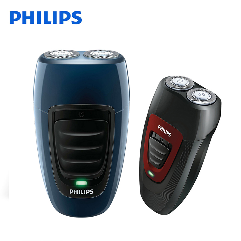Philips Electric Shaver PQ182 & PQ190 Rechargeable For Men Double Heads Philips Shaving Machine 220V Face Care