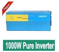 Free Shipping 1000w Solar Inverter12V 24V DC To 110V 120v 220v 230V 240V AC Pure Sine