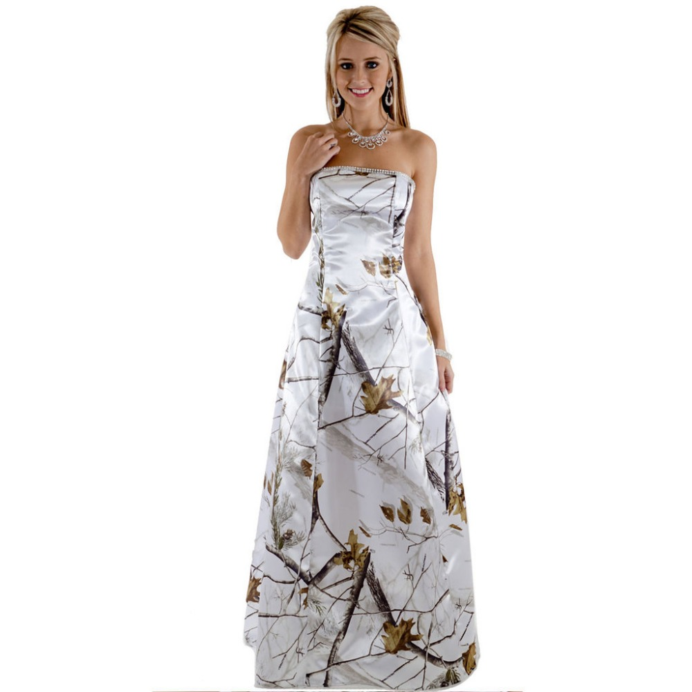 47d1c72f777b2 strapless realtree pink camouflage prom dresses long vestido de festa longo  camo party dress 2019 custom make free shipping-in Prom Dresses from  Weddings ...