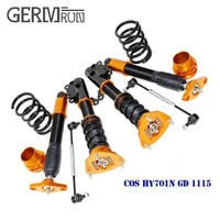 Non Adjustable Coilovers Lowering Suspension Kit For 2011 2015 Hyundai Genesis Coupe 2 Door Model ONLY